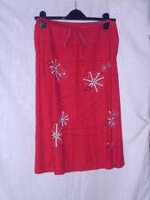 Calf Length Linen A-line Women's Skirts NEXT