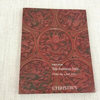 Antico Imperial Cinese Porcellana Giada Art Christie's Asta Catalogo Libro