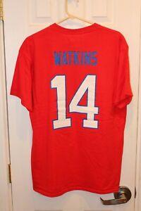 red Buffalo Bills Sammy Watkins (14) jersey t-shirt (NWT) - adult large / L