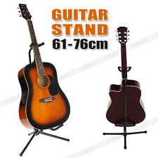 Folding Electric Acoustic Bass Guitar Tripod Stand Gig Floor Rack Holder AU