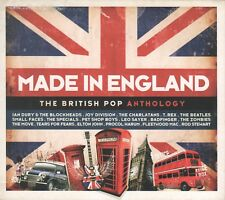 V/A - MADE IN ENGLAND - The British Pop Anthology - 3 x CD - 2010 - ARGENTINA