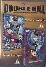 Mortal Kombat - Kombat Begins Again and The Secret Of Quan Chi - DOUBLE BILL DVD