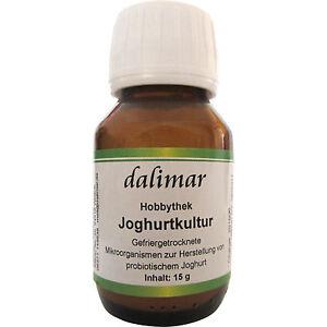 Dalimar Joghurtkultur 15 g - Joghurtkulturen Hobbythek Joghurtmaker probiotisch