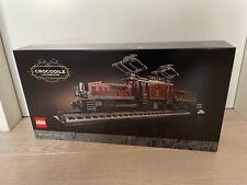 LEGO 10277  Expert Krokodil Crocodile Lokomotive Lok Locomotive OVP - NEU