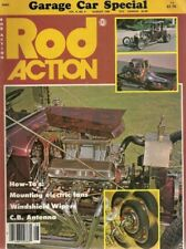 ROD ACTION 1980 AUG - ELECTRIC FAN & WIPERS INSTALLED, TOP BOWS 4 30-34 FORD