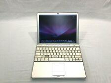 "Apple PowerBook G4 12"" 867 Mhz PowerPc G4 640 Mb Ram Working!"