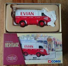 """Corgi 70508 Renault 1000kg """"EVIAN"""" water Ltd Edition No 1863 of 2000"""