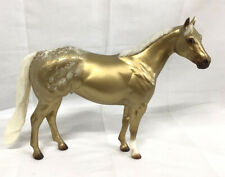 Peter Stone GOLD Nugget SIGNED by PETER STONE  Grand lake Model Horse Show Model