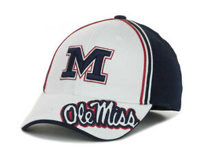 Mississippi Rebels Top of the World Flex fit Hat OLE MISS Cap size S/M