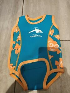 Konfidence Unisex Baby Warmer Wetsuit Size Birth to 6 Months fit chest 17Rins