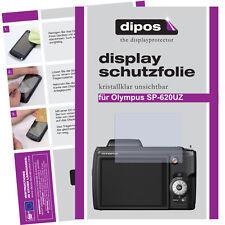 2x Olympus SP-620 UZ Protector de Pantalla protectores transparente