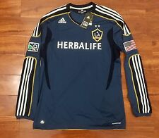 Beckham, 11-12 LA Galaxy Away LS Formotion Player Issue Shirt Size XL NWT