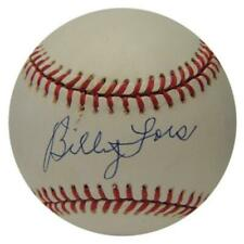 Billy Loes Signed Baseball. PSA
