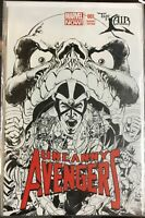 UNCANNY AVENGERS #1 Marvel 2012 The Lair Comic Variant