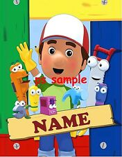 HANDY MANNY - Flexible Fridge MAGNET -- PERSONALIZED FOR FREE