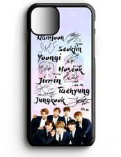 Phone CASE For IPhone Samsung LG Google Pixel 3 BTS KPOP AUTOGRAPHED IMAGE