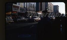 1950s or 60s  Kodachrome Photo slide Harrisburg PA #5 Cars Store Movie Theater