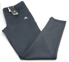 Adidas Climalite Women's Performance Midrise Active Tights Gray Size L Pants