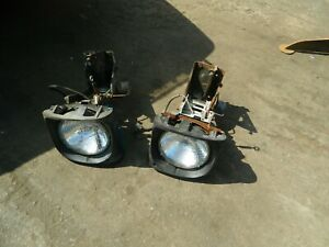 Triumph Tr7 headlight boxs pair
