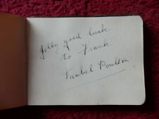 MABEL POULTON  ' ACTRESS '    AUTOGRAPH