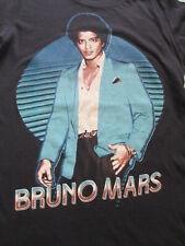 Bruno Mars The Moonshine Jungle Tour 2013 Women Black Green T Shirt Size S Small