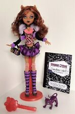 Monster High Original 1st Release Signature First Wave 1 Clawdeen Wolf Complete