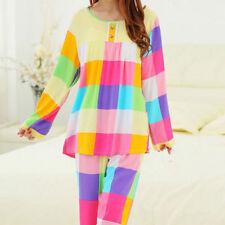 Pajama Sets Floral Sleepwear 4XL Underwear for Women