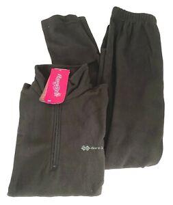 Thermal Base Layer Set Size UK 16 Womens Ski Black Warm 2 pce Loungewear Dare 2b