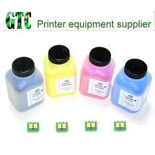 4 Toner Refill+Chip for HP CP1025,M175/275 CE310a,CE311a,CE312a,CE313a USA Toner