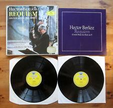 DG 104 969/70 Berlioz Requiem Charles Munch 2xLP TULIP Stereo NM/EX Germany