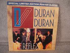 "Duran Duran, The Reflex, Capitol B 5345, 1984, Limited Ed. Poster Sleeve, 7"" 45"