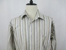 Pronto Uomo XLT Non Iron Men's Long Sleeve Dress Shirt Used Pre-Owned