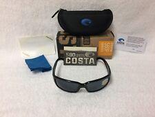 NEW Costa Del Mar Caballito Polarized Sunglasses Black Gray 580P CL 11 OGP 580