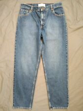 Womens Misses Size 14 32x31 Medium Relaxed Fit Levi's Signature Faded Blue Jeans