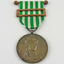 1921-1949 PORTUGAL PORTUGUESE EXEMPLARY BEHAVIOR 4 YEARS 3RD CLASS COPPER MEDAL