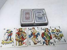 Luxury Playing Cards Box Set 2 Deck Carta Mundi Belgium Complete