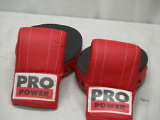 Pro Power Boxing / Sparing Gloves & Pads Set