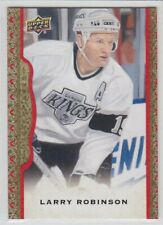 2014-15 UD MASTERPIECES LARRY ROBINSON RED /100 FRAME PARALLEL #134 Upper Kings