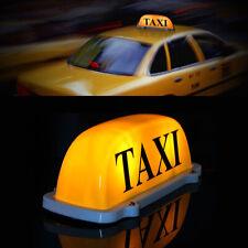 Universal Taxischild Dachschild Dachzeichen Gelb Lampe Licht Beleuchtung 12V DE