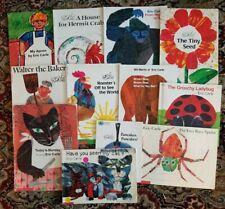 Lot of 12 Eric Carle PB Children's books