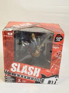 Rare Guns N' Roses Slash McFarlane Deluxe Box Set Brand New 2005