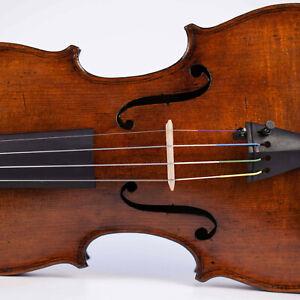 alte geige mit zettel Testore 1743 violine old violin violon viola cello italian