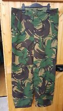 Genuine British Army DPM Camouflage MVP Goretex (Waterproof) Overtrousers