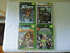 Lot of 4 Xbox games Read Info And See All Pics For Titles,etc.