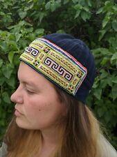 Hmong Hemp Handmade Hat Men's Small