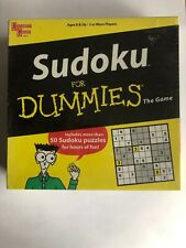 SUDOKU FOR DUMMIES THE GAME / NEW