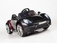 Kid Car FL1038 Porsche Style 12V Power Ride On Remote Control Wheels Black