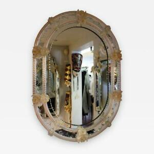 Venetian Mirror by Fratelli Barbini of Murano