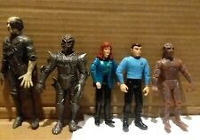 VINTAGE 90's PLAYMATES STAR TREK LOT of FIGURES