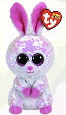 Ty Beanie Boos Regular Flippables: BONNIE The Pink And White Easter Bunny - NEW